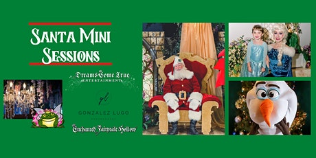 Magical Mini Sessions with Santa, the Snow Queen & the Summer Snowman tickets