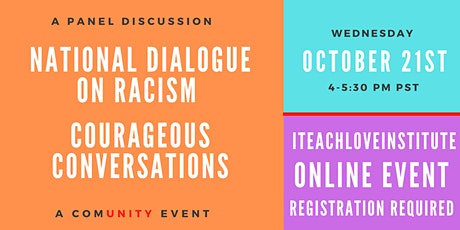 National Dialogue on Healing Racism - Courageous Conversations tickets