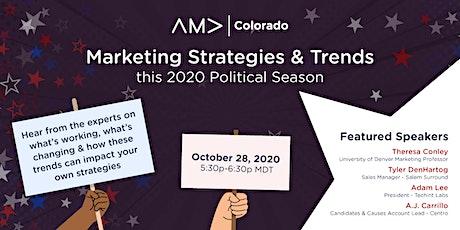 Marketing Strategies & Trends This 2020 Political Season tickets