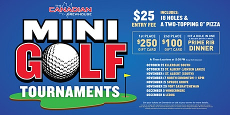 Edmonton (Windermere) Mini Golf Tournament tickets