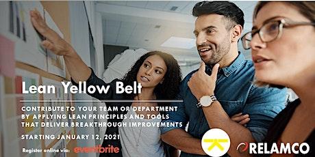 Lean Yellow Belt tickets