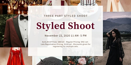 Three Part  Styled Shoot at Lake Guntersville State Park Lodge tickets