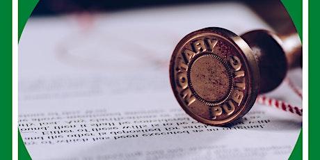 Become a Notary Public entradas