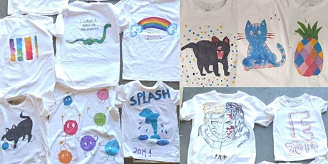 TRA Teens creative workshop: T shirt painting tickets