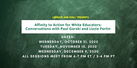 Affinity to Action for White Educators tickets