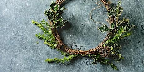 "12"" Wood-Base Wreath Making! tickets"