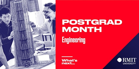 RMIT Postgrad Month: What's Next in Engineering tickets