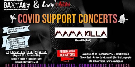 Concert Mama Killa (Repas inclus)