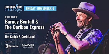 Peter Burgener Memorial Concert: Barney Bentall & The Cariboo Express tickets