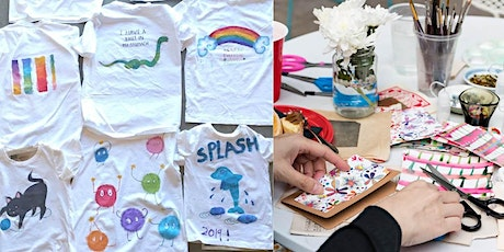 Transracially Adopted Adults' creative: T shirt painting or card making tickets