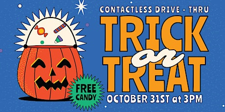 Contactless Drive Thru Trick Or Treat tickets