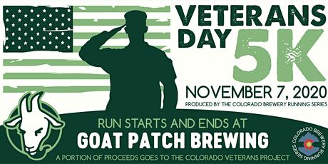 Veterans Day 5k - Goat Patch Brewing | Colorado Brewery Running Series tickets