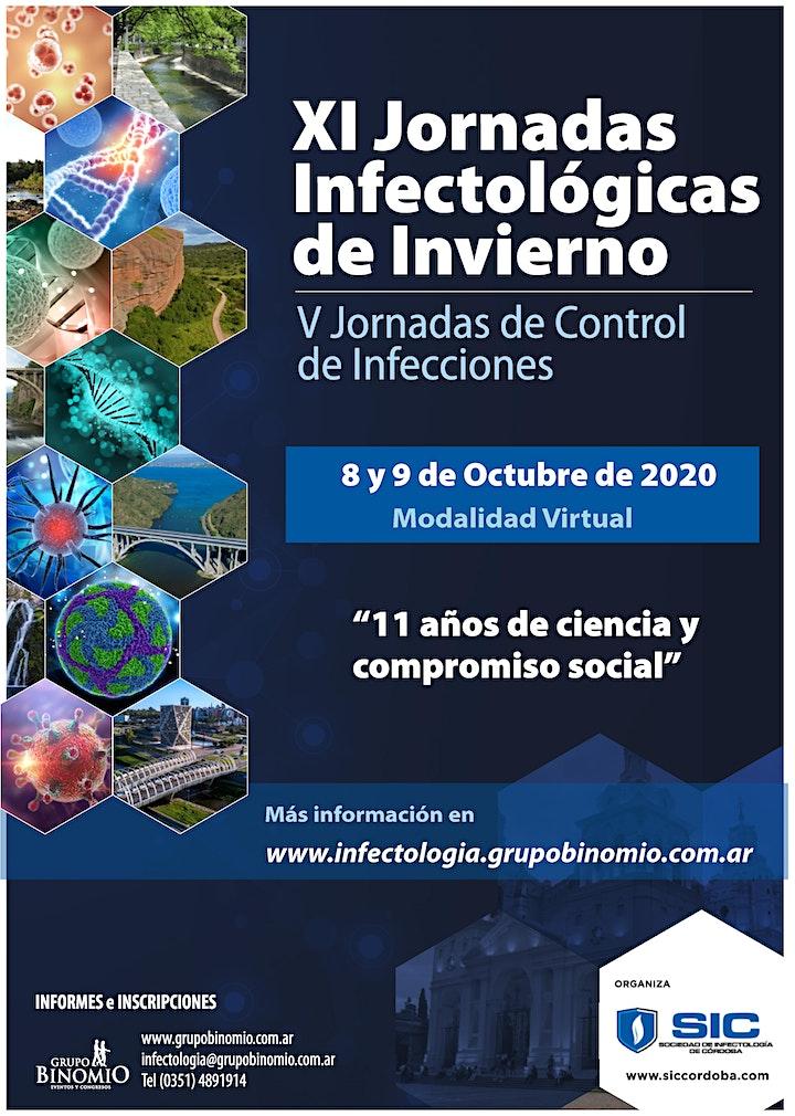 Imagen de XI Jornadas Infectológicas de Invierno V Jornadas de Control de Infecciones