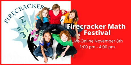 Firecracker Math Live-Online Festival for  Kids Grades K - 11 tickets