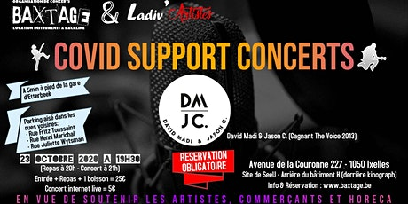 Concert David Madi & Jason C. billets