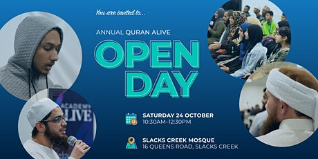 Quran Alive Open Day 2020 tickets