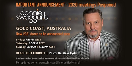 DONNIE SWAGGART MEETINGS - GOLD COAST, AUSTRALIA 2020 tickets