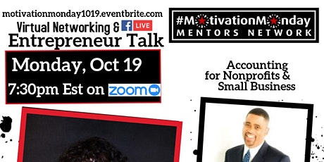 #MotivationMonday Networking & Entrepreneur Talk - Accounting for Nonprofit tickets