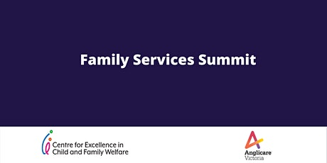 Family Services Summit tickets
