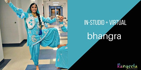 In-studio & Virtual Bhangra Workshop with Nikita tickets