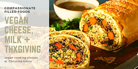 Vegan Cooking Classes - Thanksgiving and Winter Stews + Soups tickets