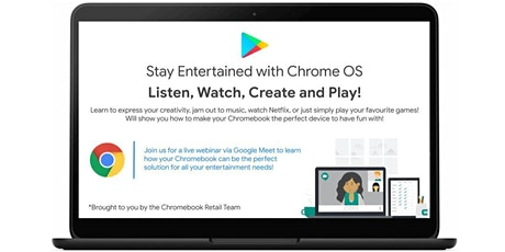 Stay Entertained with Chrome OS