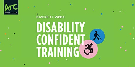 Disability Confident Training tickets