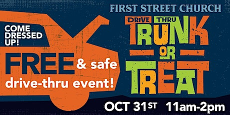 Drive-Thru Trunk or Treat tickets