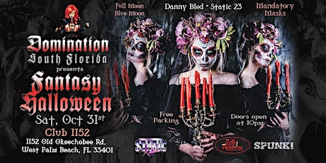 """Submission South Beach Presents """" Fantasy Halloween"""" tickets"""