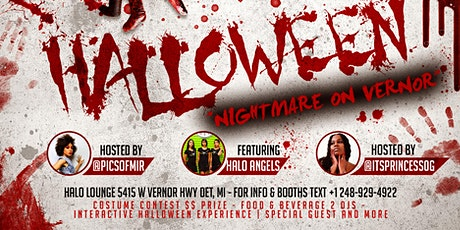 """Nightmare On Vernor"" Halloween Party tickets"