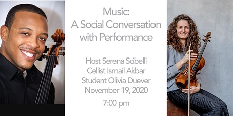A Social Conversation with Performance: Cellist Ismail Akbar tickets