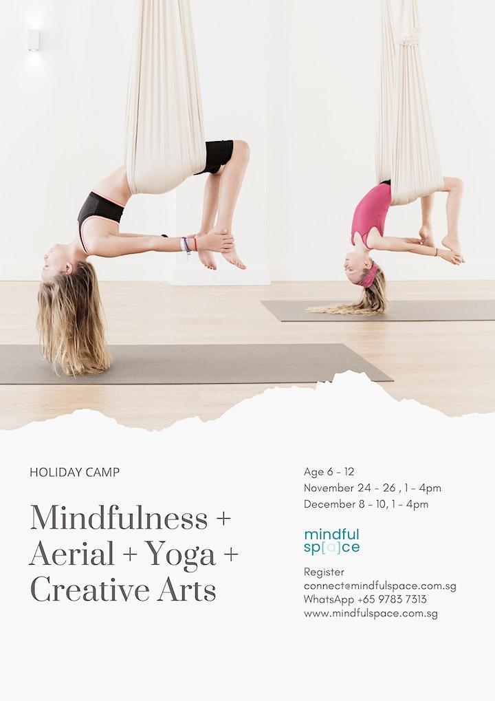 3 Days Holiday Camp: Mindfulness + Aerial + Yoga + Creative Arts image