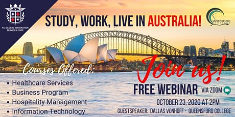 INTERESTED TO STUDY WORK AND LIVE IN AUSTRALIA!! tickets