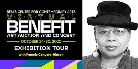 Benefit Art Auction Exhibition Tour with Pamela Conyers-Hinson tickets