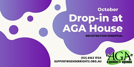 Drop-In with AGA tickets