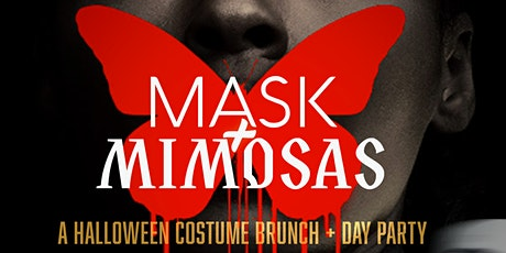 """Mask + Mimosas """"A Halloween Costume Brunch + Day Party"""" tickets"""