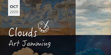 Art jamming on cloud painting