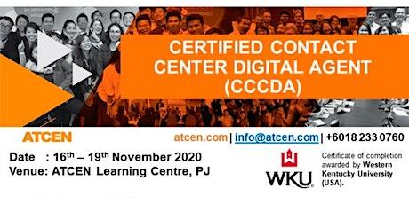 Certified Contact Center Digital Agent tickets