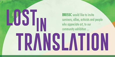 Lost in Translation: Art Exhibition tickets