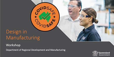 Design in Manufacturing Workshop | Bundaberg tickets