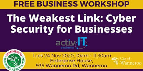 Business Workshop - Cyber Security for Businesses tickets