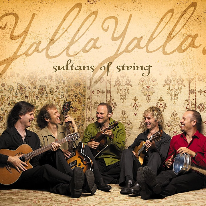 Sultans of String ZOOM Concert #2- Yalla Yalla Edition! image