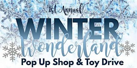 Winter Wonderland Pop Up Shop & Toy Drive Vendor Sign Up tickets