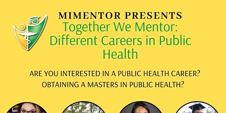 TWM: Different Careers in Public Health tickets