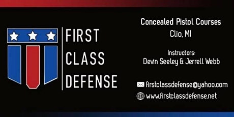 Concealed Pistol Certification Course tickets