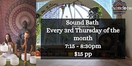 Sound Bath at Chameleon tickets