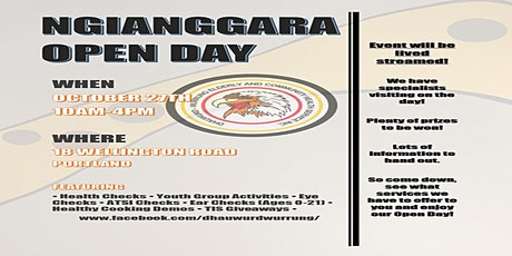 NGIANGGARA OPEN DAY tickets