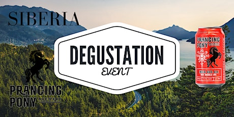 Prancing Pony and SIBERIA degustation night tickets