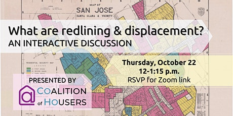 What are Redlining and Displacement? tickets