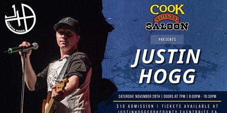 Justin Hogg Live At Cook County Saloon tickets